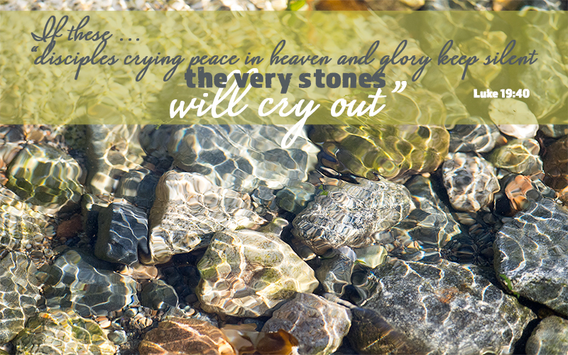 The Stones Will Cry Out Print